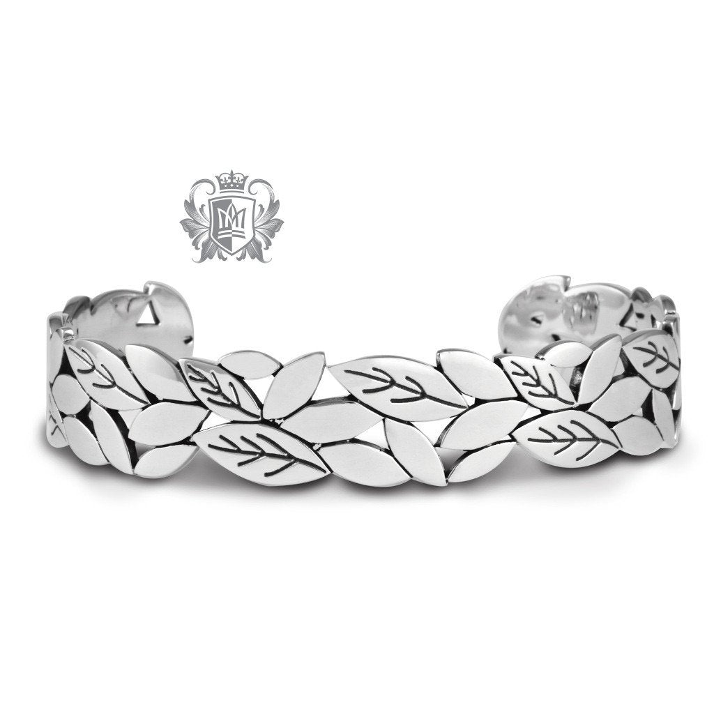 Petal Cuff Bangle - Metalsmiths Sterling™ Canada