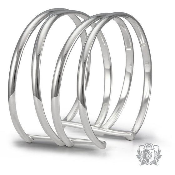 Double Bangle - Metalsmiths Sterling™ Canada