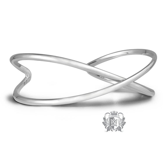 Crossover Bangle - Metalsmiths Sterling™ Canada