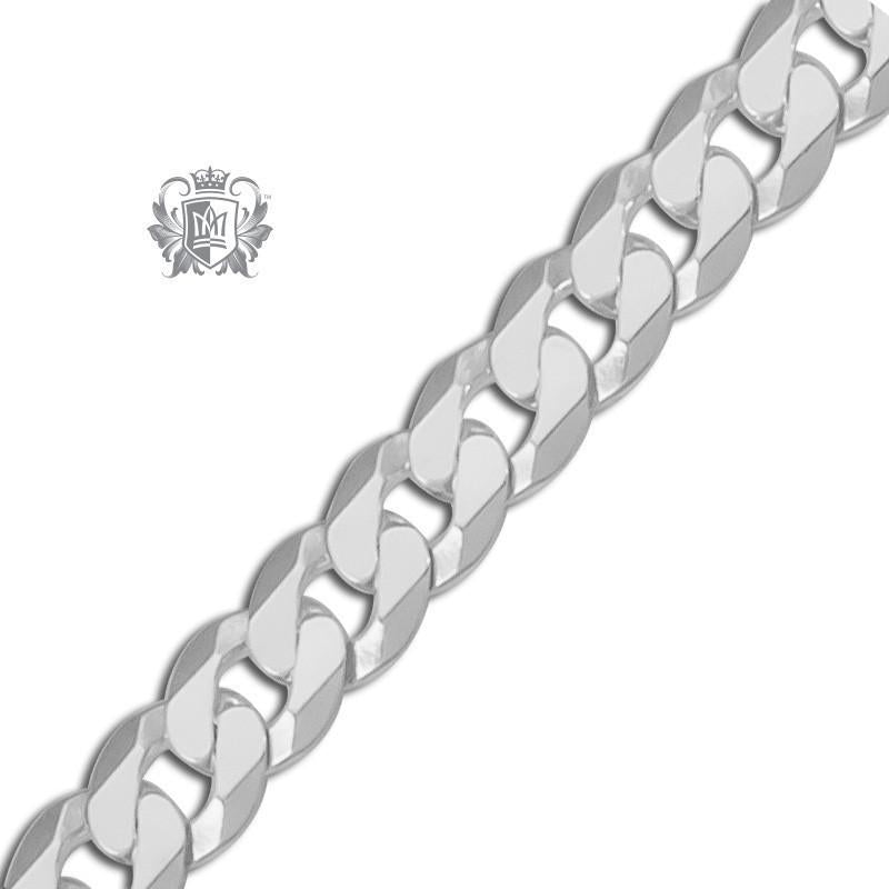 Extra Flat Curb Chain (100 gauge) - Metalsmiths Sterling™ Canada