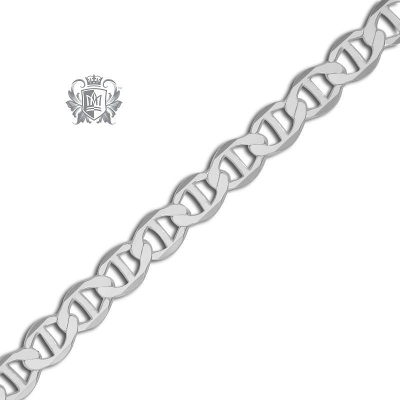 Flat Open Marina Chain (120 Gauge) - Metalsmiths Sterling™ Canada