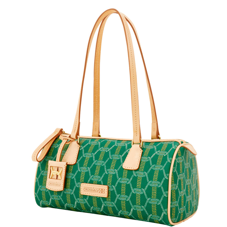 Crosslace Barrel Bag