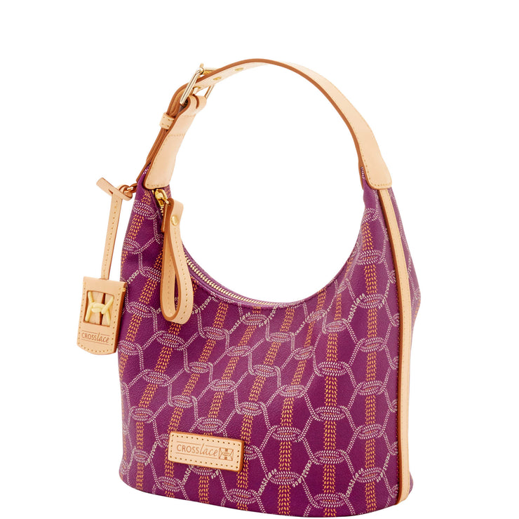 Crosslace Bucket Bag