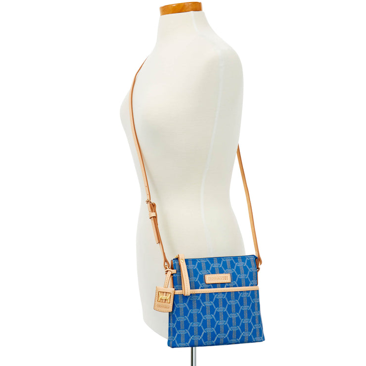 Crosslace Zip Top Crossbody