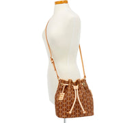 Crosslace Drawstring Crossbody