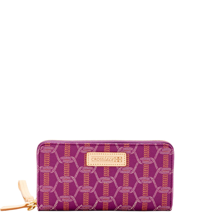 Crosslace Large Wallet