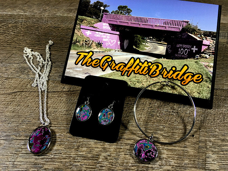 """From The Heart"" Hand Carved Jewelry Collection by: (The Graffiti Bridge)"