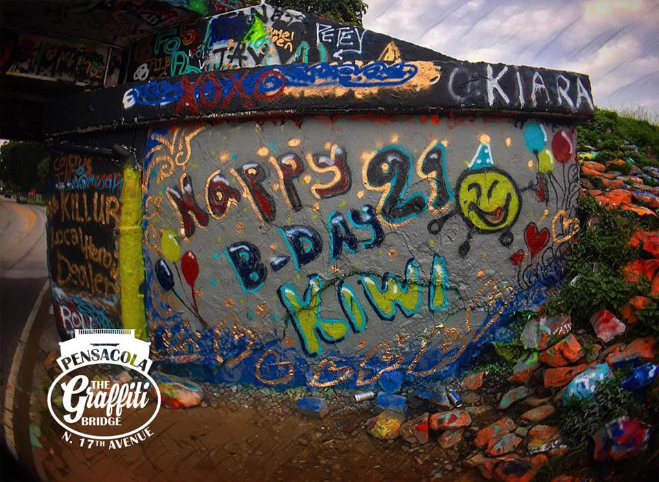 Featured Friday: Bridge Tag Featured by The Graffiti Bridge