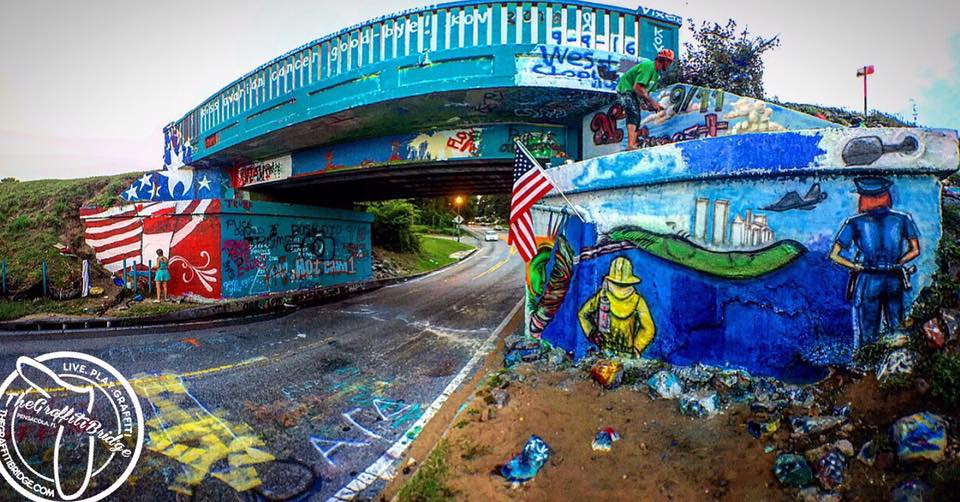 The Graffiti Bridge Celebrates it's live stream Anniversary while honoring the memory of the victims of 9/11.