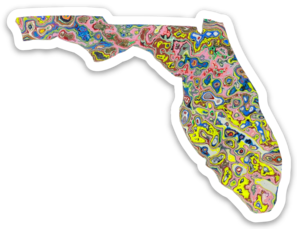 Florida Sticker Art