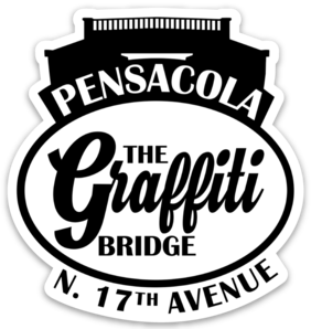 Graffiti Bridge (logo) Sticker