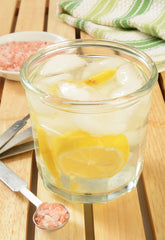 Lemon, Himalayan Sea Salt, Tap Water