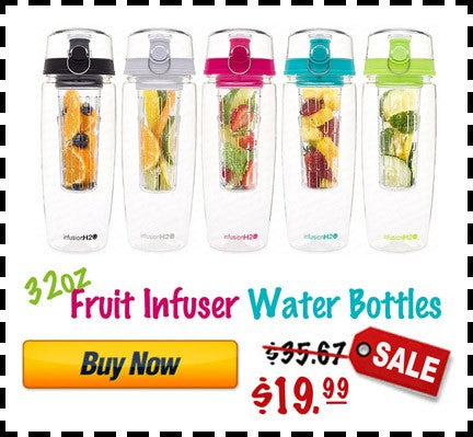 32 oz best fruit infused water bottle recipes