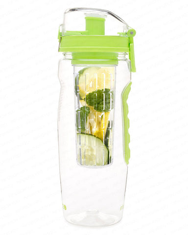 Lime Green InfusionH2O 32 Oz Fruit Infused Water Bottle