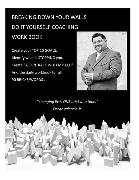 1 A  ORIGINAL COMBO PACK - DO IT YOURSELF COACHING DIGITAL WORKBOOK AND BRICKS