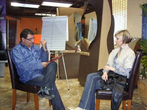 SALON STYLIST COACHING, ONE ON ONE COACHING