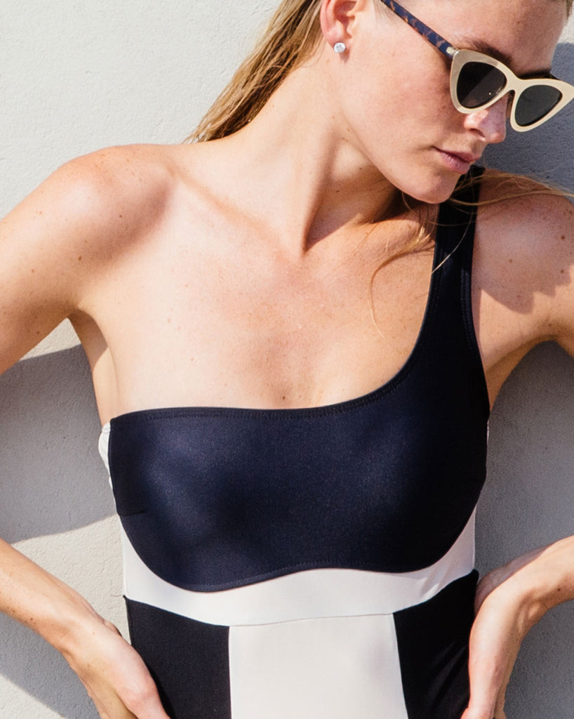 SHOP ONE SHOULDER SWIMWEAR