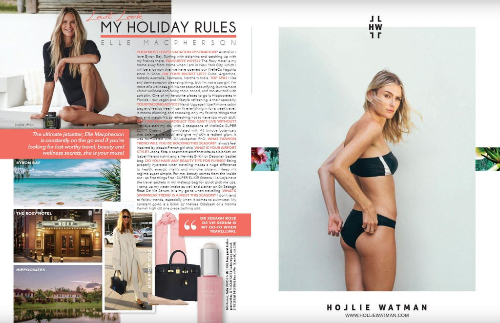hollie retreat magazine