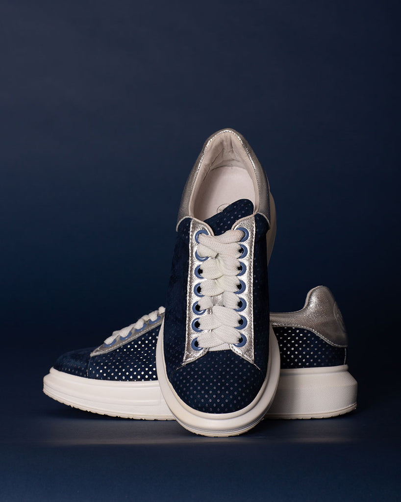 Seeing Spots Sneakers - Navy