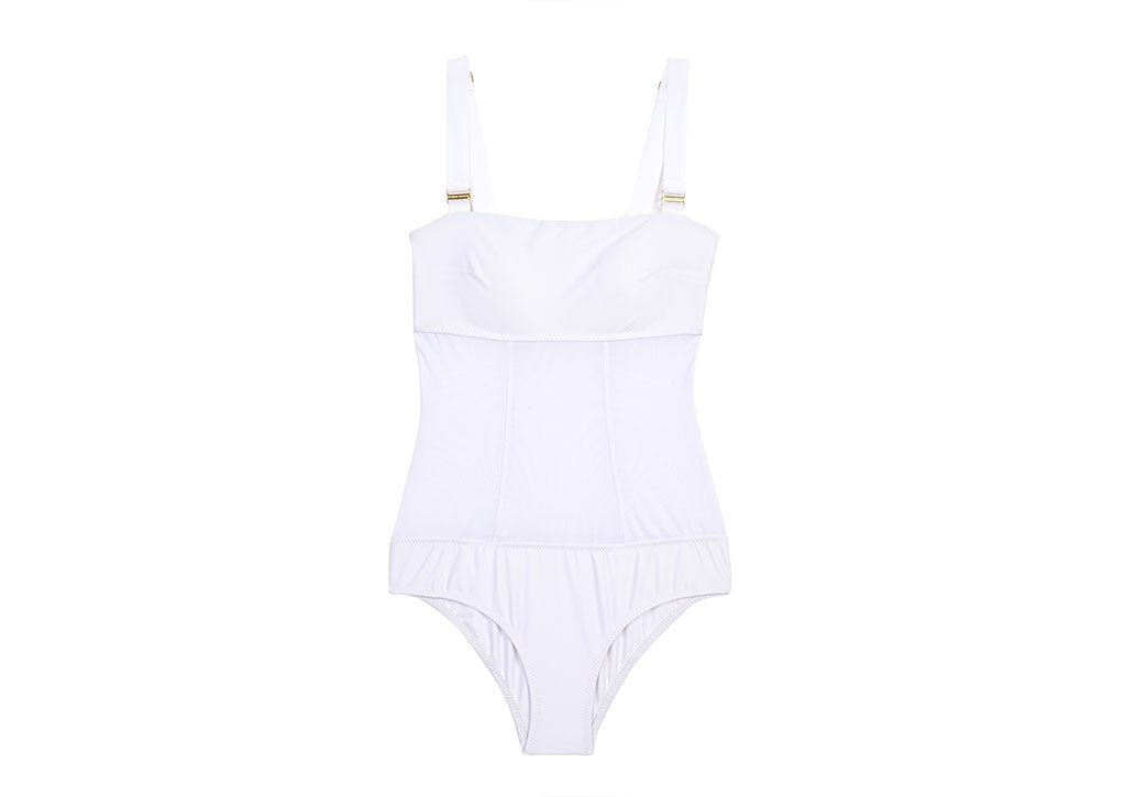 JANE ONE PIECE-WHITE