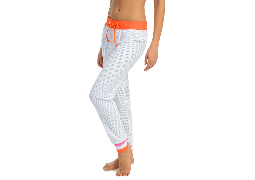 BEACH JOGGER-WHITE MULTI