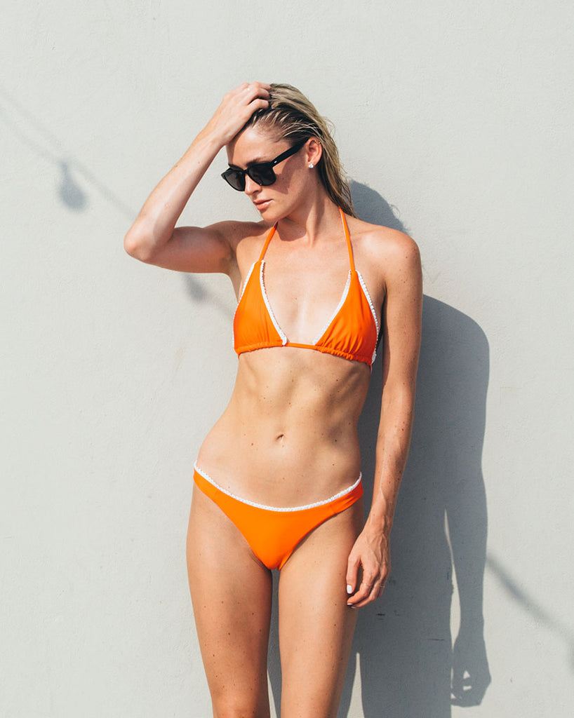 CULT BIKINI-REVERSIBLE Orange