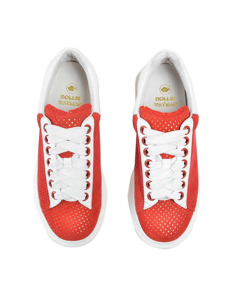 Seeing Spots Sneakers - Red