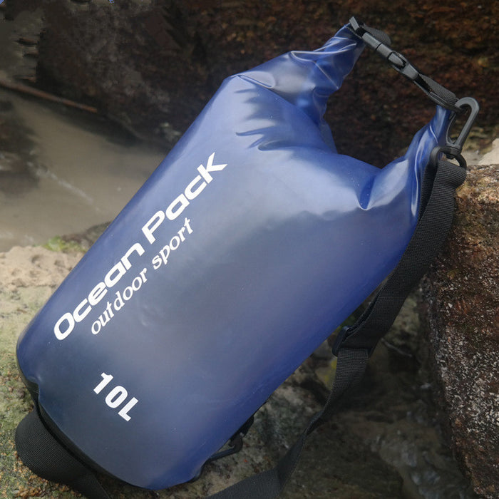 Spot beach bag anti water bucket bag PVC waterproofing bag drifting waterproof bag swimming bag outdoor sports bag