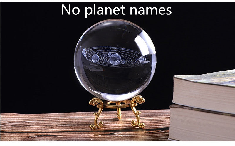 Solar System Crystal Ball without planet names