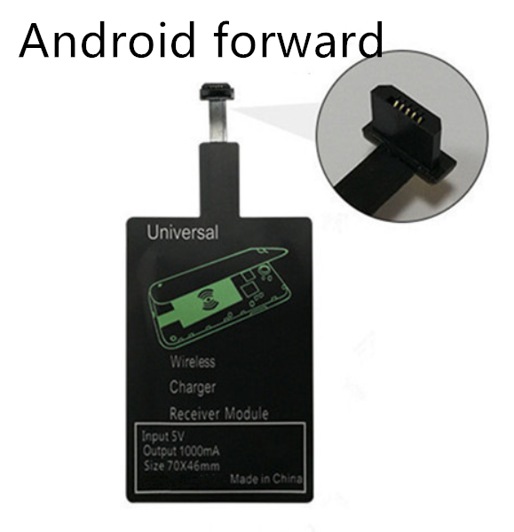 Wireless charging receiver Car typec Android charging treasure Wireless receiving patch