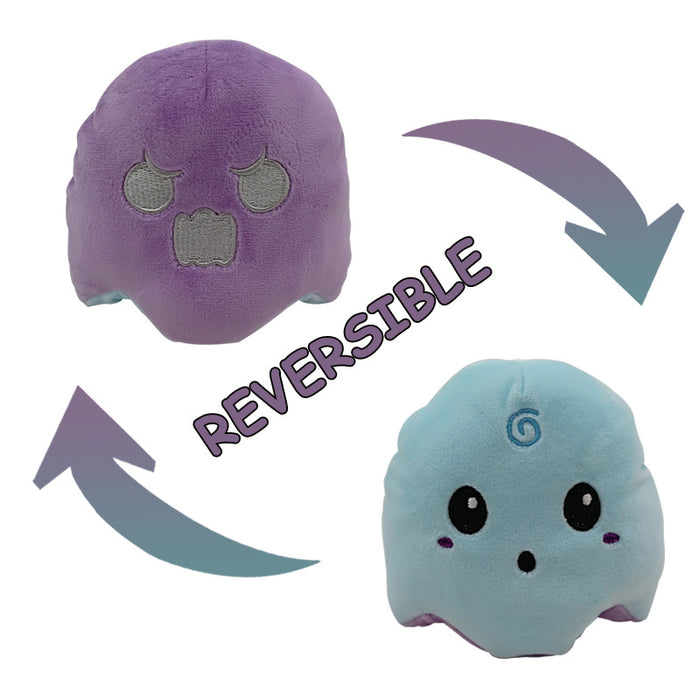 Reversible Flip Octopus Stuffed Plush Doll Toy