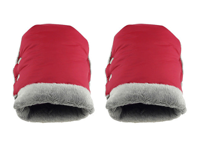 Baby stroller warm gloves