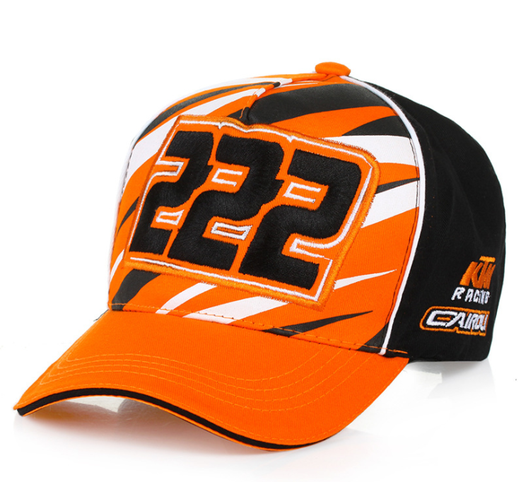 KTM racing hat motocross riding knight locomotive parkour racing duck tongue baseball hat