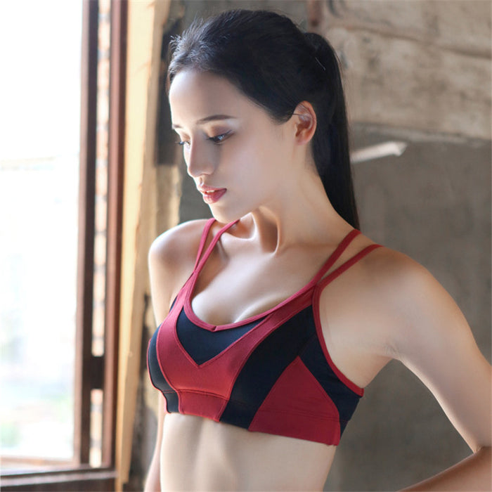 Detachable yoga bra