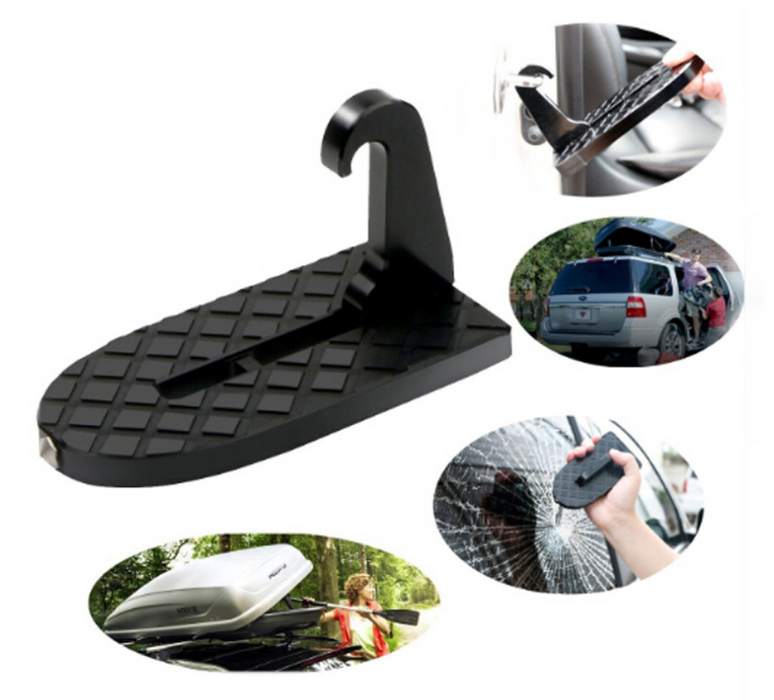 Car assist pedal Easy to operate on the roof work door hook roof pedal