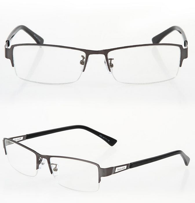 2020 fashion anti-blue glasses, metal half-frame computer glasses, playing game-specific flat glasses