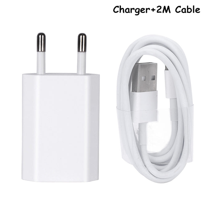 5V2A smart phone charger USB charger iPhone 5 5 s 6 6 s X iPad