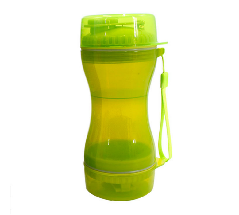 Pet water and grain dual-use cups