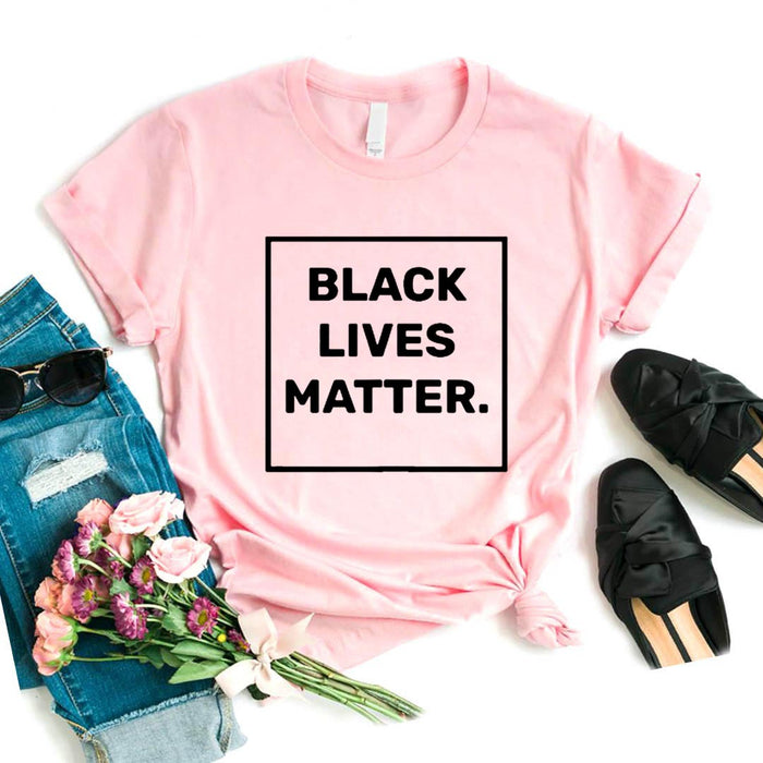 Black lives matter short sleeve t-shirt