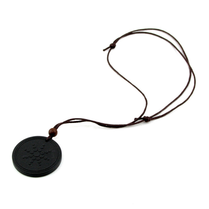 Black Necklace Pendant