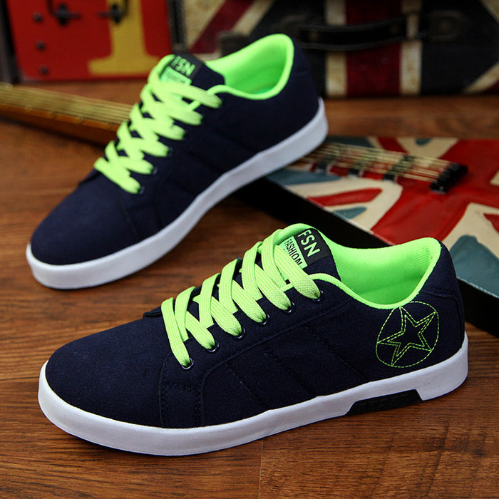 New Wenzhou spring breathable men's casual shoes Korean version of the British board shoes men's shoes sports forrest shoes