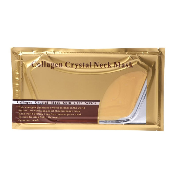Pro Gold Collagen Crystal Neck Mask Collagen Neck Lift Masks Gold Neck Mask High Quality Collagen Gold Neck Mask