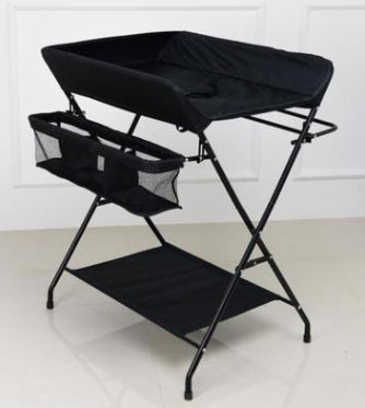Foldable portable baby diaper table