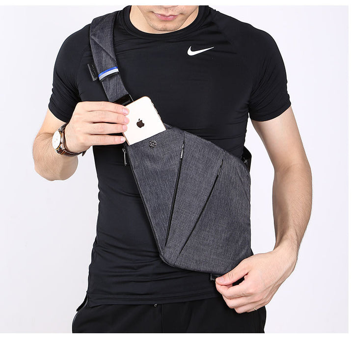 NIID FINO digital receiver Gun Bag men's single shoulder slant bag multifunction chest bag Han Banchao