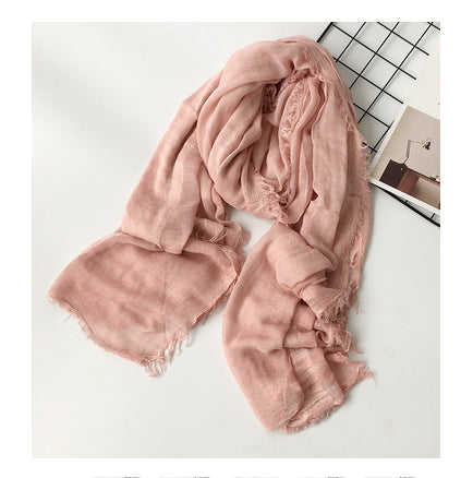 Shawl cotton scarf