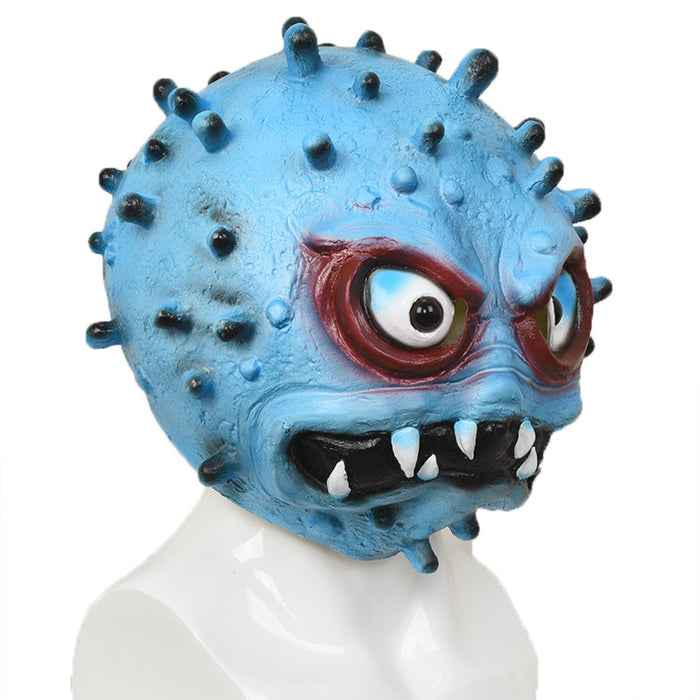 Halloween virus latex headgear