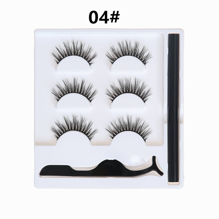 3 Pairs Magic False Eyelashes