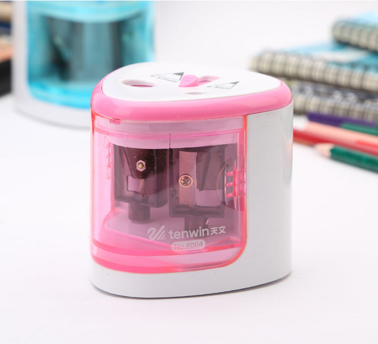 Automatic electric pencil sharpener pencil sharpener child safety pencil sharpener pencil sharpener learning stationery primary school supplies