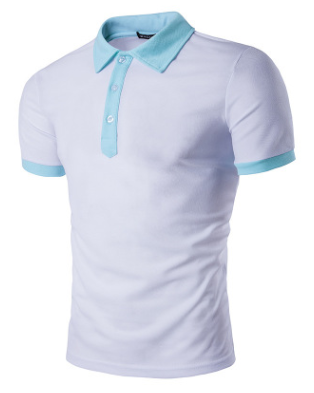 Single Breasted Mens Polo Shirt
