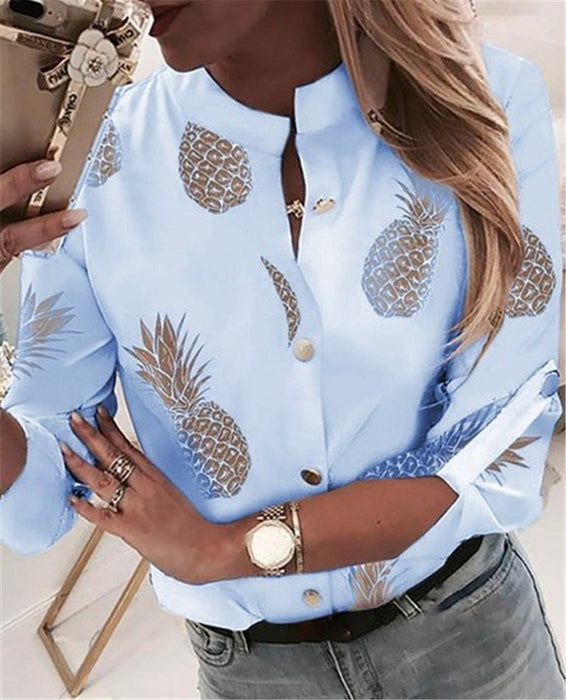 Pineapple print shirt